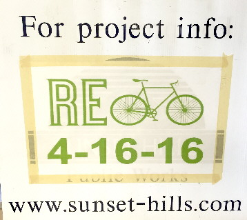 Re-Bicycle Sign
