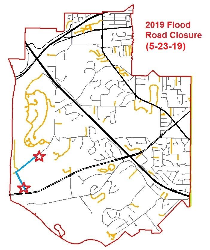 Road Closure - 5-23-19